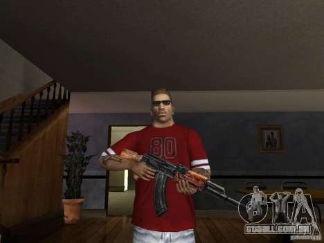 AK HD para GTA San Andreas terceira tela