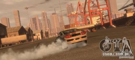 Ford Mustang Monster Energy 2012 para GTA 4 vista direita