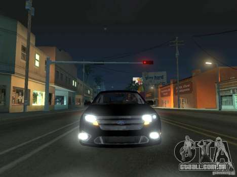 Ford Fusion para GTA San Andreas esquerda vista