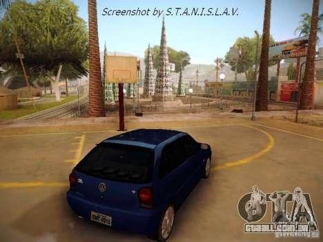Volkswagen Golf V2.0 Final para GTA San Andreas esquerda vista