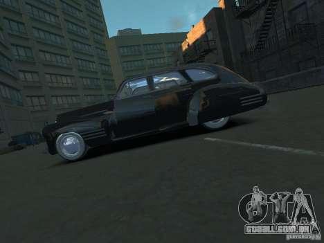 Cadillac Series 61 1942 para GTA 4 esquerda vista
