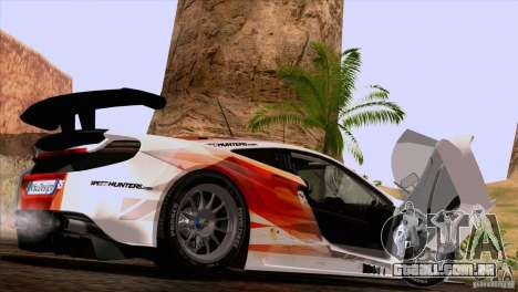 McLaren MP4-12C Speedhunters Edition para GTA San Andreas vista direita