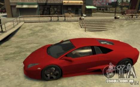 Lamborghini Reventon Coupe para GTA 4 esquerda vista