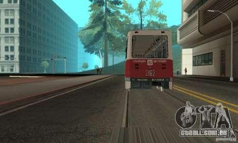 KTM5-2162 para GTA San Andreas esquerda vista