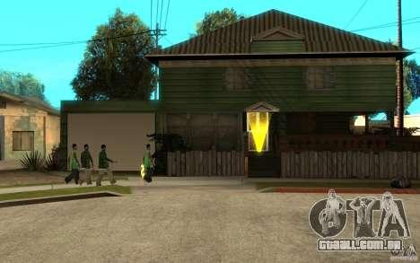 É russo Hata CJ para GTA San Andreas quinto tela