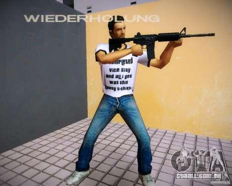 Armas de Pak de GTA4 para GTA Vice City segunda tela