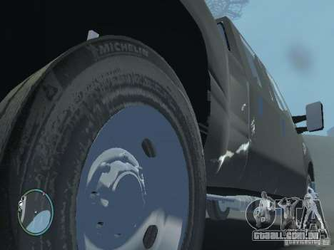 Ford F-350 2008 v2.0 para GTA 4 vista interior