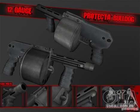 Protecta Bulldog para GTA San Andreas segunda tela