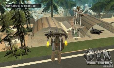 New CJs Airport para GTA San Andreas décima primeira imagem de tela