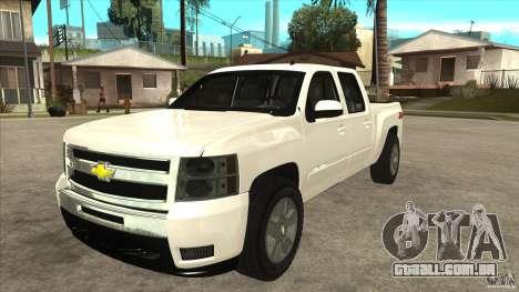 Chevrolet Cheyenne 2011 para GTA San Andreas