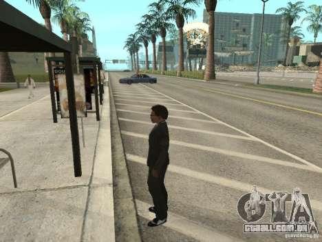 Linha de ônibus em Las Venturas para GTA San Andreas terceira tela