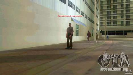 Big Lady Cop Mod 2 para GTA Vice City terceira tela