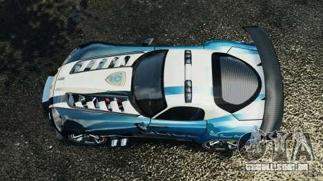 Dodge Viper SRT-10 ACR ELITE POLICE [ELS] para GTA 4 vista direita
