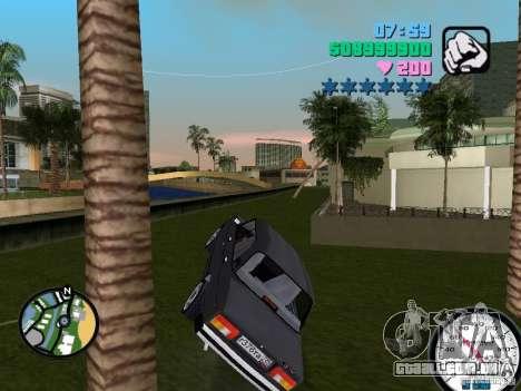2105 Vaz para GTA Vice City vista traseira