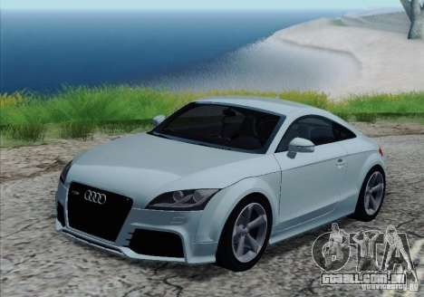 Audi TT-RS Coupe para as rodas de GTA San Andreas