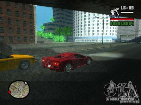 SSC Ultimate Aero para GTA San Andreas vista direita