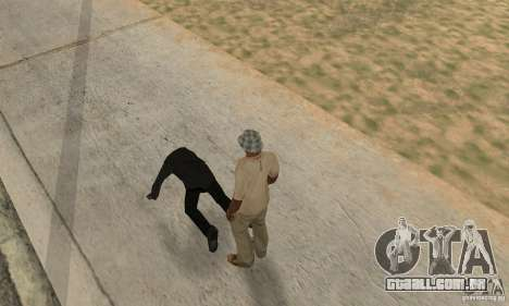 Colisão de GTA 4 para GTA San Andreas segunda tela