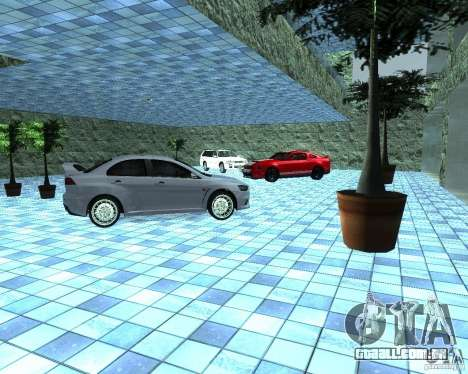 HD Motor Show para GTA San Andreas por diante tela
