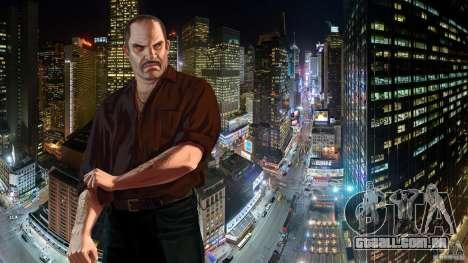 Telas de carregamento para GTA 4 terceira tela