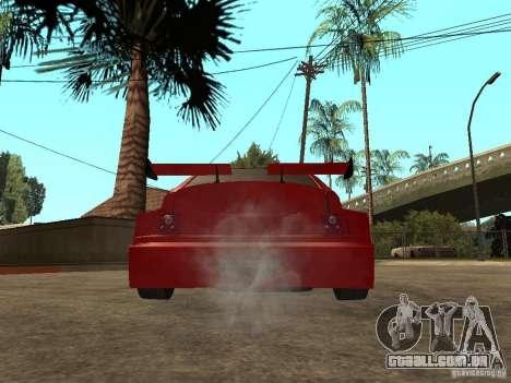 Diabo vermelho VAZ-2112 para GTA San Andreas