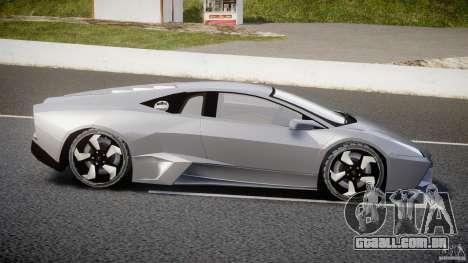 Lamborghini Reventon v2 para GTA 4 esquerda vista