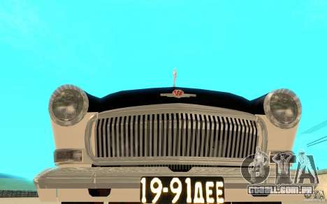 Black Lightning para GTA San Andreas sexta tela