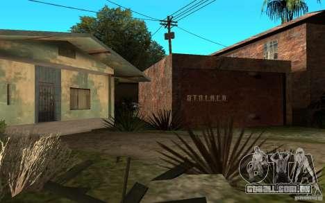 S.T.A.L.K.E.R House para GTA San Andreas segunda tela