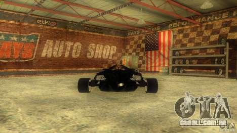 Lamborghini Concept para GTA San Andreas vista interior