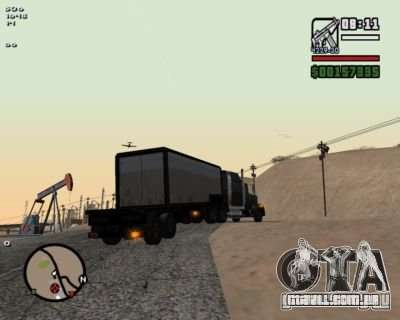 Turn Indicators 2.0 para GTA San Andreas segunda tela