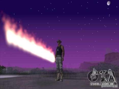 Espada de fogo para c Jay para GTA San Andreas