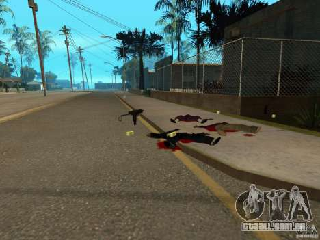 Armas de Pak nacionais para GTA San Andreas oitavo tela