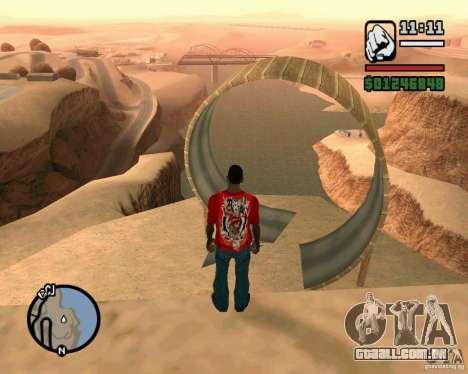 A torre inclinada de Pisa para GTA San Andreas segunda tela