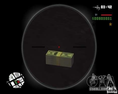 Dinheiro de HD para GTA San Andreas