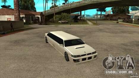 Limusine do sultão para GTA San Andreas
