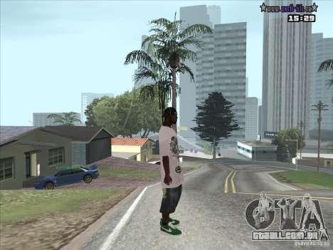 Pele nova Suite para GTA San Andreas segunda tela
