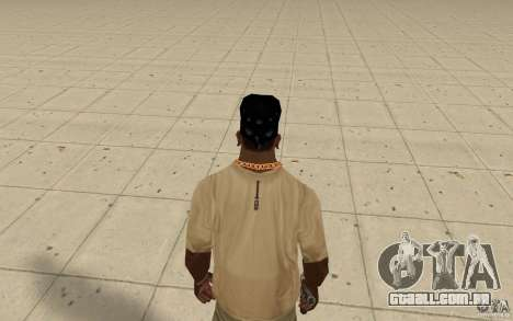 Vidro de bandana para GTA San Andreas terceira tela