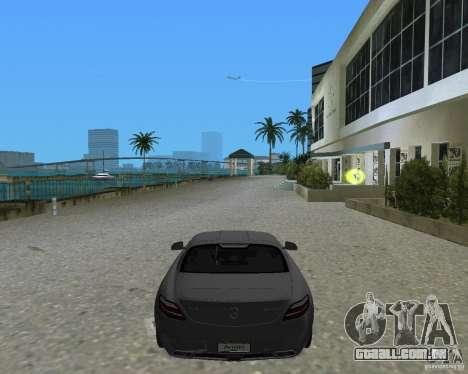 Mercedes Benz SLS AMG para GTA Vice City vista traseira esquerda