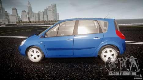 Renault Scenic II Phase 2 para GTA 4 esquerda vista