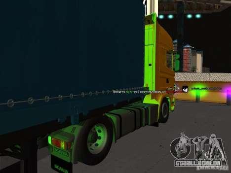 Scania R620 para GTA San Andreas esquerda vista