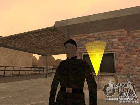 Soldados do exército russo para GTA San Andreas