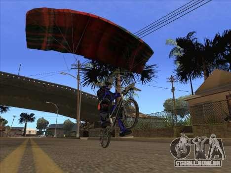 Pára-quedas para bajka para GTA San Andreas terceira tela