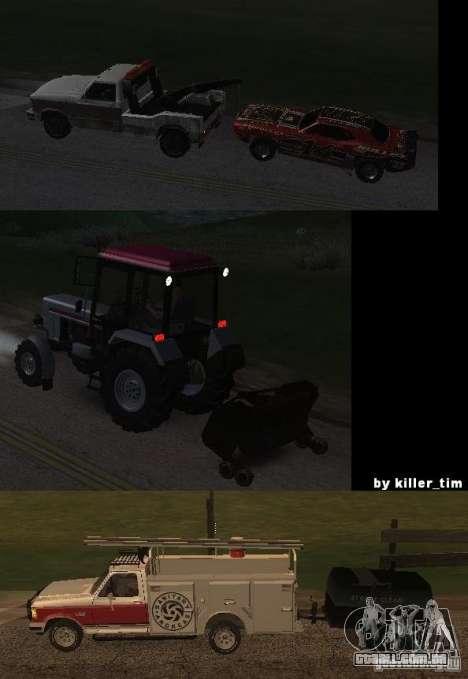 Transporte por caminhão v 2.0 para GTA San Andreas