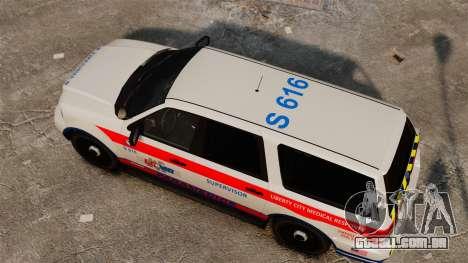 Polícia Landstalker ELS para GTA 4 vista direita