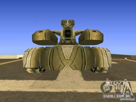 Star Wars Tank v1 para GTA San Andreas vista direita