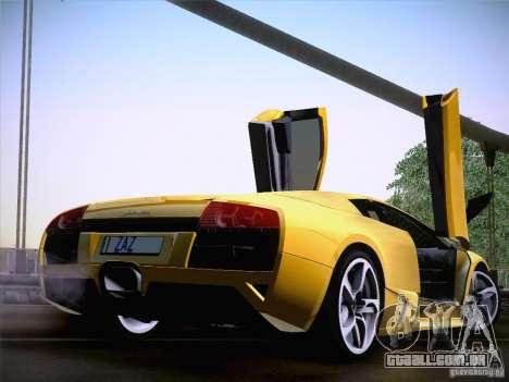 Lamborghini Murcielago LP640 para GTA San Andreas vista direita