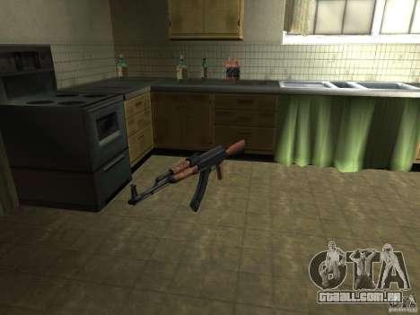 Armas de Pak nacionais para GTA San Andreas