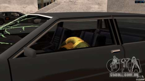 Morte no carro para GTA San Andreas segunda tela