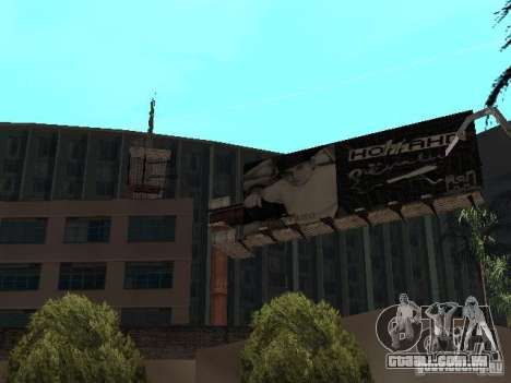 Rep trimestre v1 para GTA San Andreas quinto tela