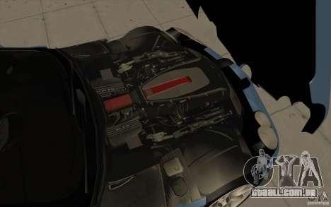 Mercedes-Benz SLR McLaren 2005 para GTA San Andreas interior