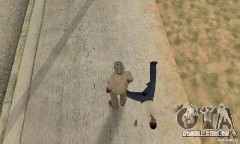 Colisão de GTA 4 para GTA San Andreas por diante tela